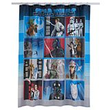 Star Wars Collage Shower Curtain