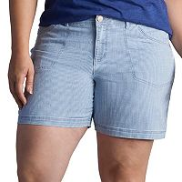 Plus Size Lee Matteo Pork Chop Pocket Shorts
