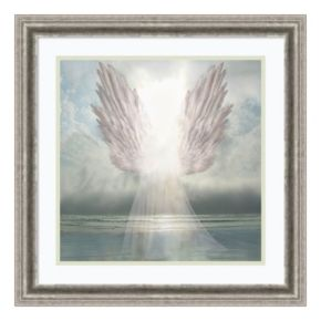 Amanti Art I Am Guided Angel Framed Wall Art