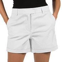 Women's Harve Benard Cuffed Twill Shorts