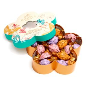 Godiva Chocolate Assorted Truffles Flower Gift Box (32-Piece)