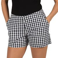 Women's Harve Benard Gingham Printed Shorts