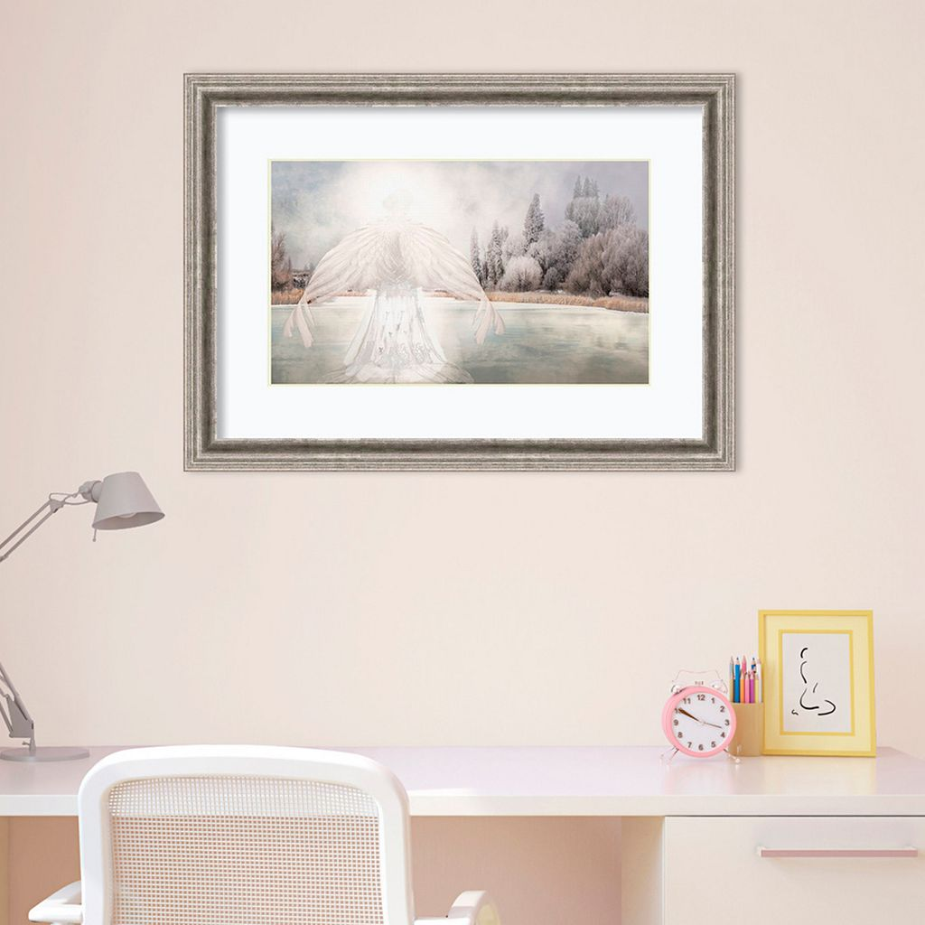 Amanti Art I Am Peaceful Angel Framed Wall Art