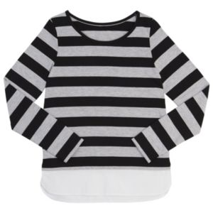 Girls 7-16 French Toast Striped Long-Sleeve Top