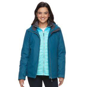 Women's ZeroXposur Andrea Hooded 3-in-1 Systems Jacket