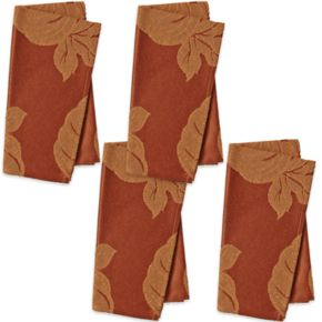 The Big One® Orange Pumpkin Napkin 4-pk.
