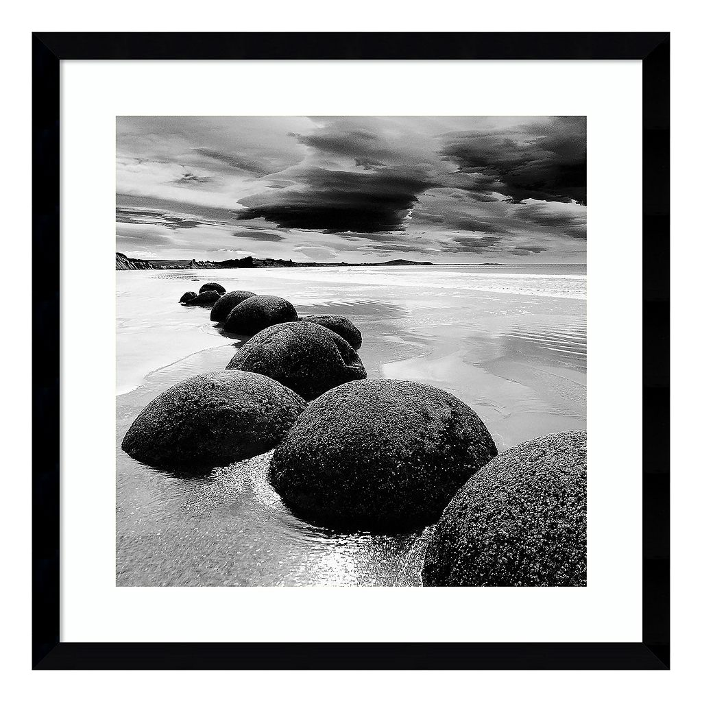 Amanti Art Seashore Framed Wall Art