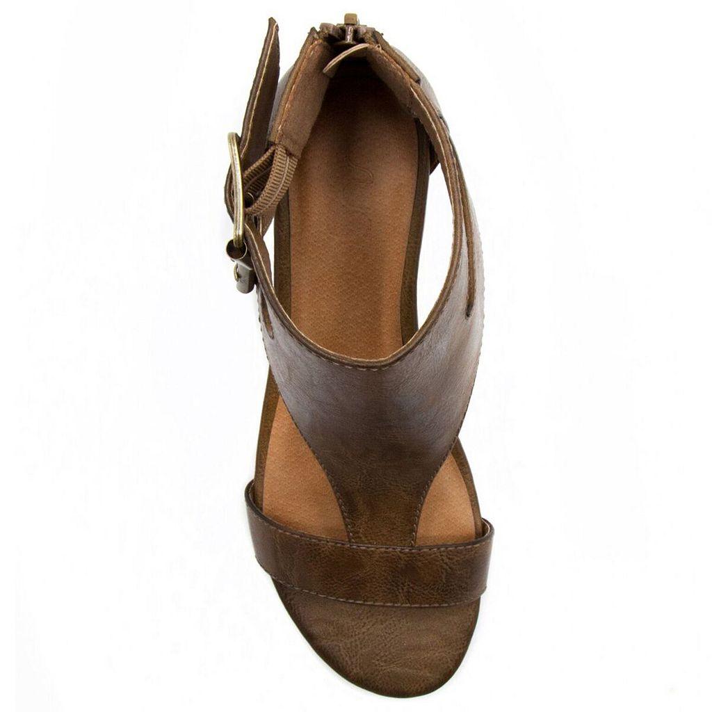 sugar Wigout Women's Wedge Sandals