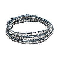 Mudd® Blue Braided Wrap Bracelet