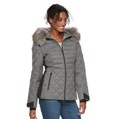 Women's ZeroXposur Sabrina Faux-Fur Trim Quilted Jacket