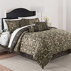 Martex 7 pc Luxury Shiraz Comforter Set