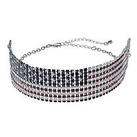 Mudd® American Flag Choker Necklace