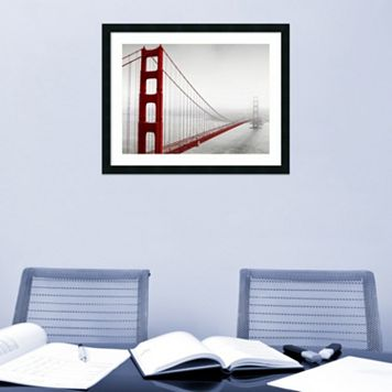 Amanti Art Golden Gate Bridge Framed Wall Art