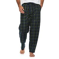 Men's Chaps Plaid Microfleece Lounge Pants