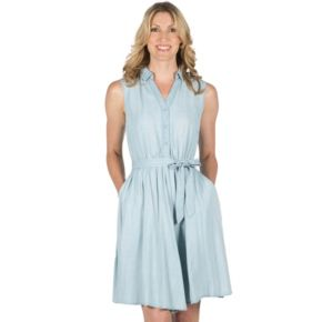 Women's Larry Levine Fit & Flare Dress