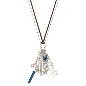Mudd® Long Star Fringe Multi Strand Necklace
