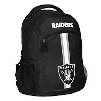 Forever Collectibles Oakland Raiders Action Stripe Backpack