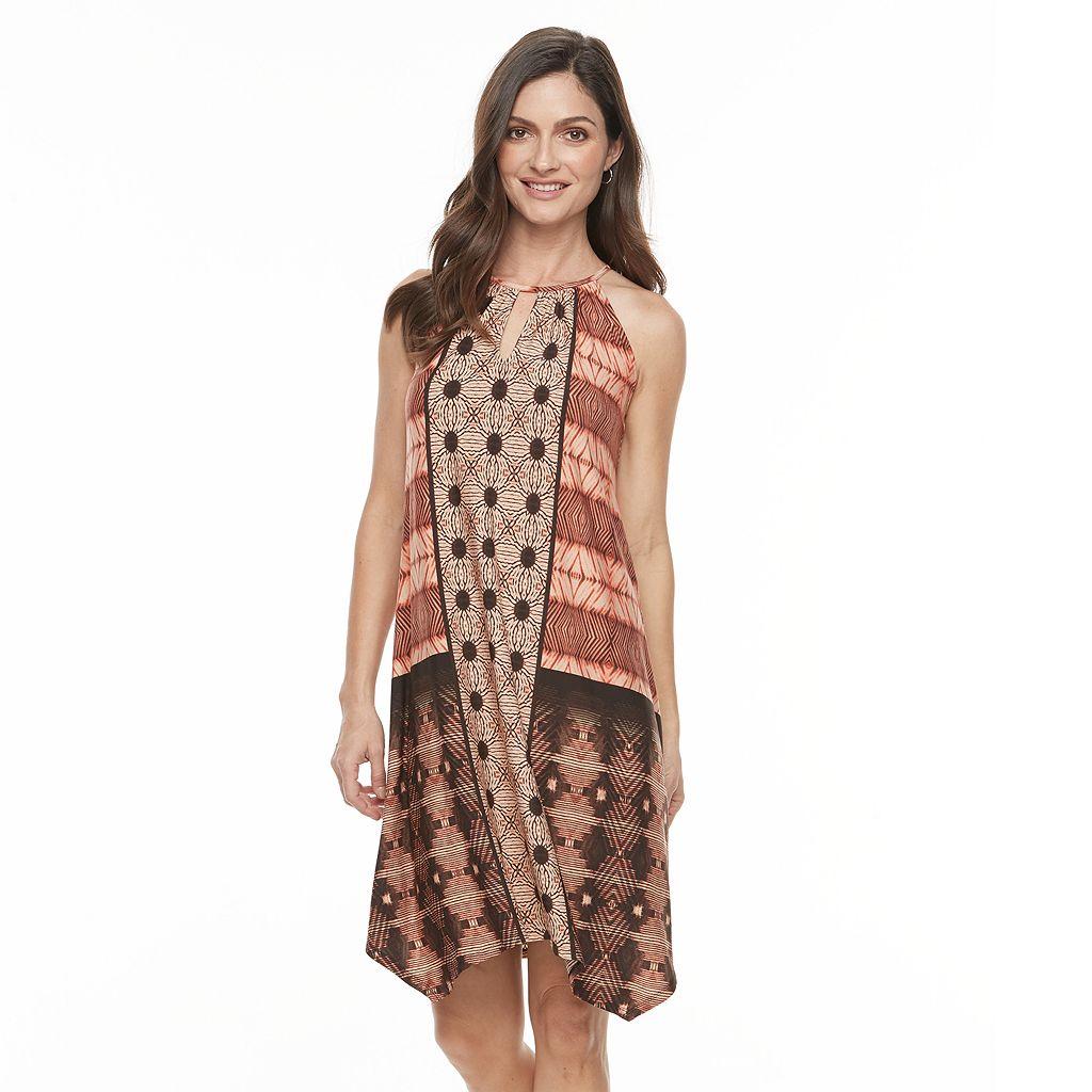 Women's Suite 7 Mix Print Shift Dress