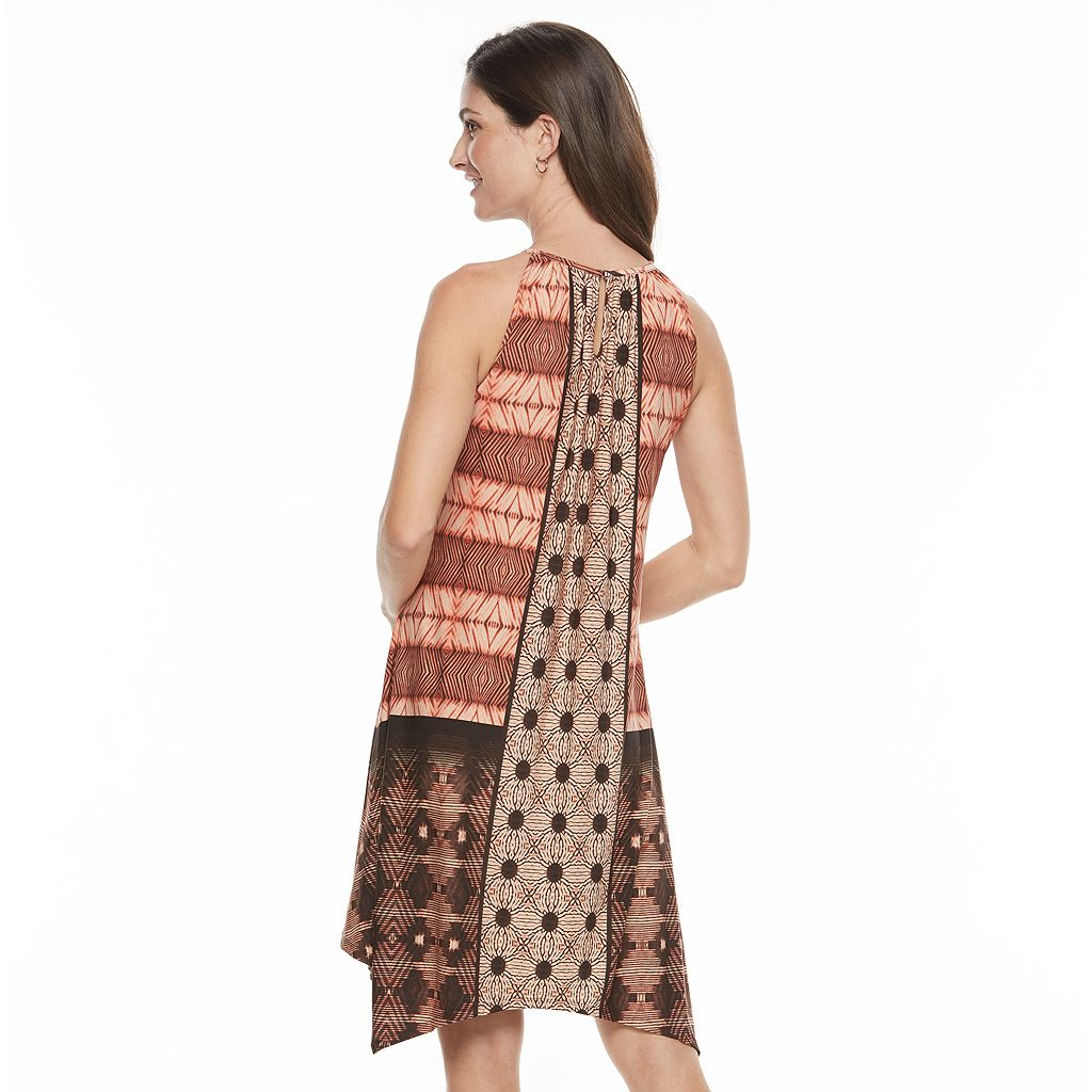 Women's Suite 7 Mix Print Shift Dress