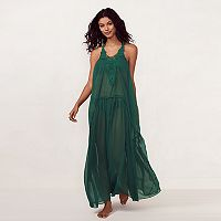 Women's LC Lauren Conrad Beach Shop Crochet Maxi Cover-Up