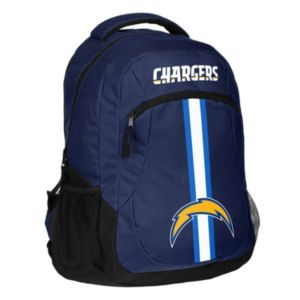 Forever Collectibles San Diego Chargers Action Stripe Backpack