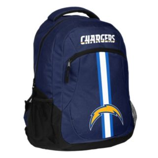 Forever Collectibles San DiegoChargers Action Stripe Backpack