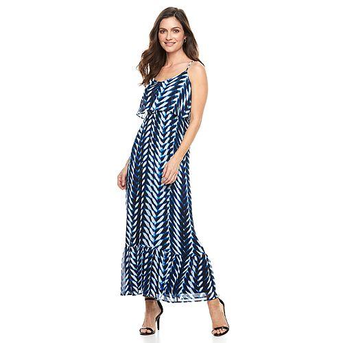 Women's Suite 7 Chevron Maxi Dress