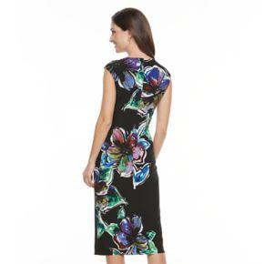Women's Suite 7 Floral Midi Dress