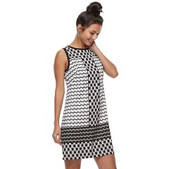 Women's Suite 7 Abstract Shift Dress