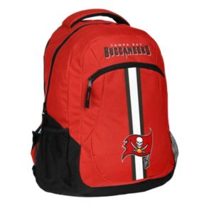 Forever Collectibles Tampa Bay Buccaneers Action Stripe Backpack