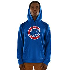 Men's Majestic Chicago Cubs Strong Lead Hoodie