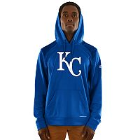 Men's Majestic Kansas City Royals Strong Lead Hoodie