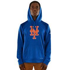 Men's Majestic New York Mets Strong Lead Hoodie
