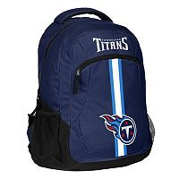 Forever Collectibles Tennessee Titans Action Stripe Backpack