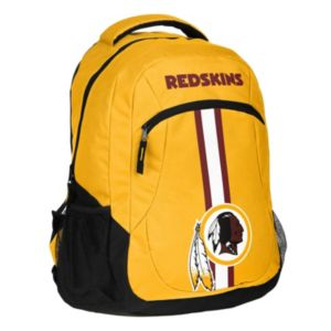 Forever Collectibles Washington Redskins Action Stripe Backpack