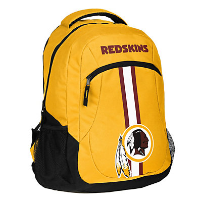Forever Collectibles Washington Redskins Action Stripe Backpack