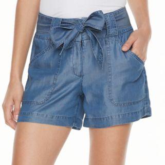 Women's Apt. 9® Chambray Soft Shorts