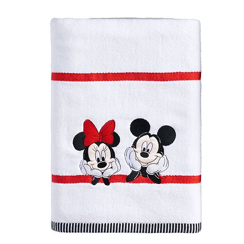 Disney's Mickey & Minnie Mouse Bath Towel