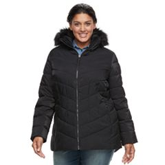 Plus Size Camryn Quilted Puffer Jacket