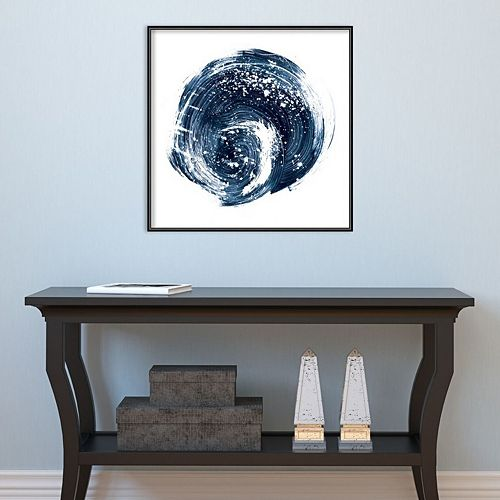 Amanti Art Indigo Nebula I Framed Wall Art