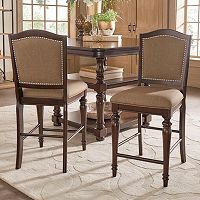 HomeVance Hanbury Counter Stool 2-piece Set