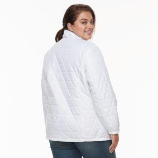 Plus Size ZeroXposur Darlene Hooded 3-in-1 Stretch Systems Jacket