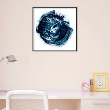 Amanti Art Indigo Nebula IV Framed Wall Art