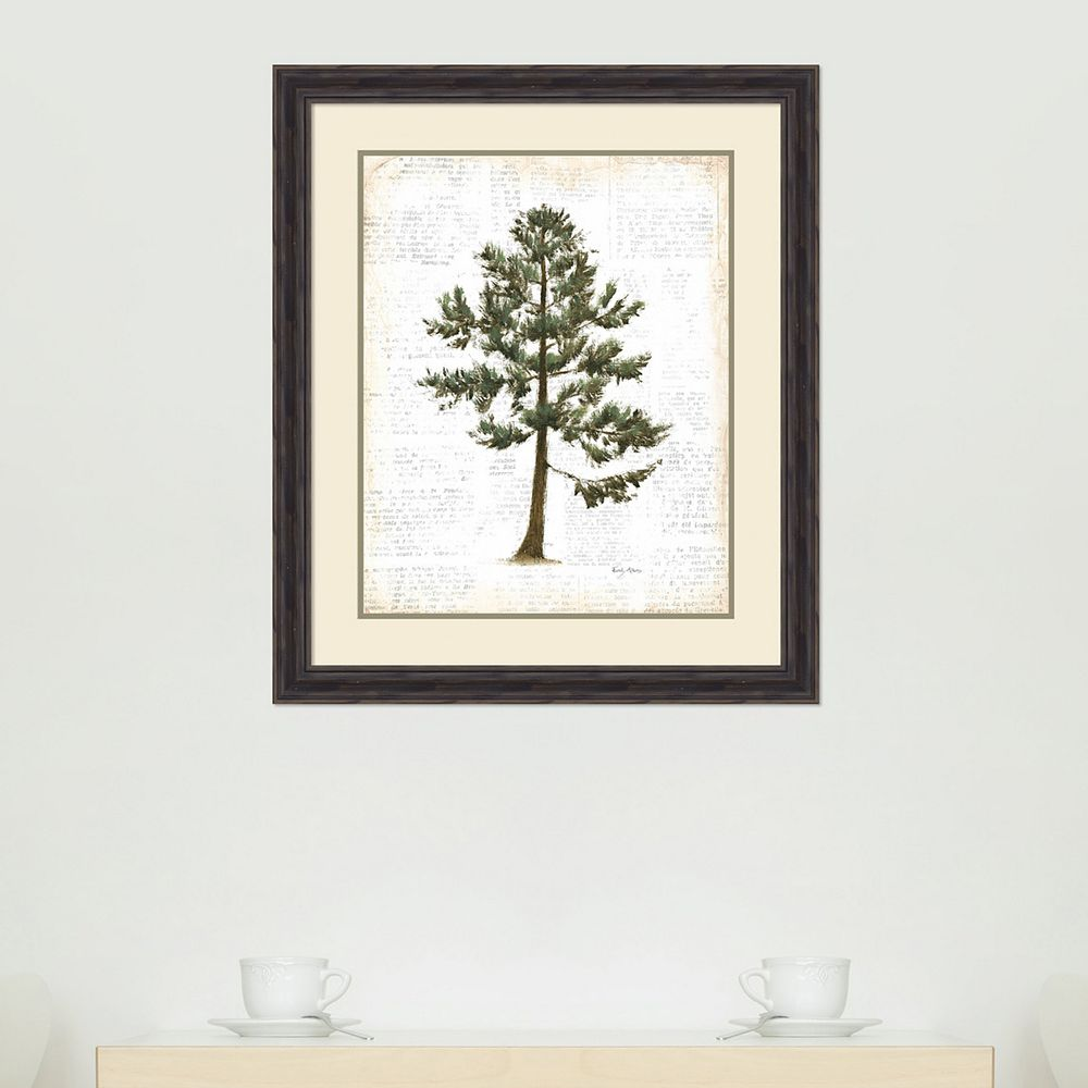 Amanti Art Into The Woods Trees I Framed Wall Art