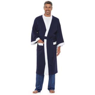 Men's Chaps Waffle-Weave Kimono Robe