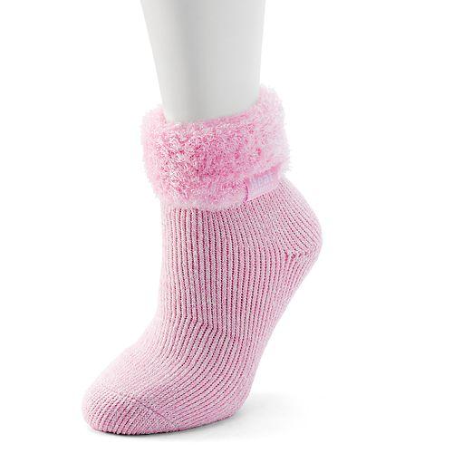 Women's Heat Holders Lounge Marled Gripper Ankle Socks