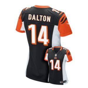 Women's Nike Cincinnati Bengals Andy Dalton Game NFL Replica Jersey