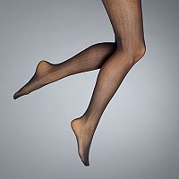 Simply Vera Vera Wang Linear Wave Control-Top Tights