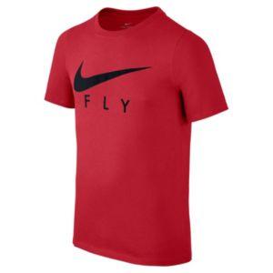 Boys 8-20 Nike Swoosh Fly Tee