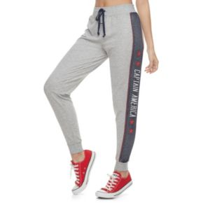 Juniors' Marvel Hero Elite Captain America Jogger Pants by Her Universe